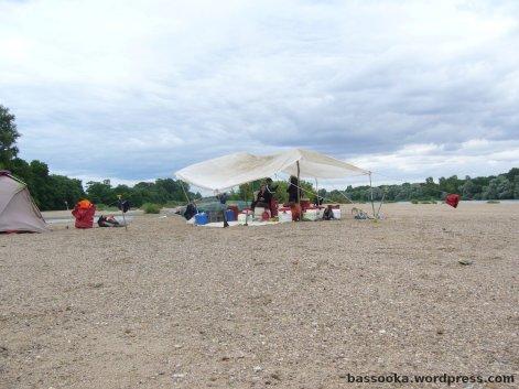 Die letzte Sandbank der Tour