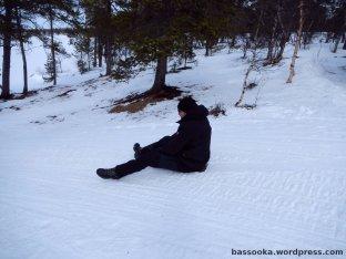 Schneeschaufelrutschen