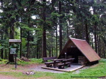 Schutzhütte auf dem großen Jagdberg