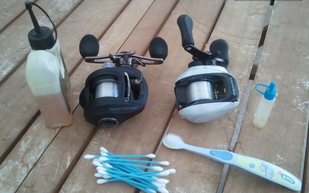 Dicas de manutenção para o equipamento de pesca