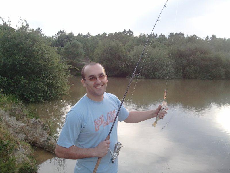 Estreia na pesca ao achigã
