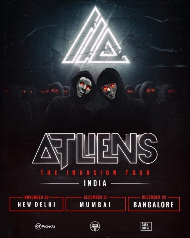 ATLiens India Tour 2018 Flyer