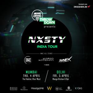 NXSTY India Tour New Delhi & Mumbai