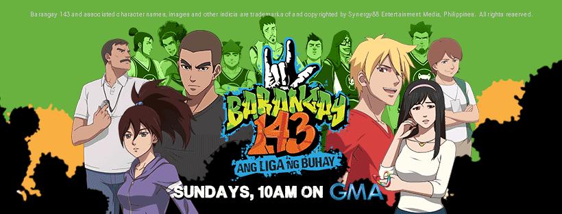 Barangay 143: Labing Unang Pinoy nga Anime