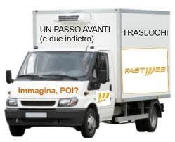 furgone per trasloco fastweb
