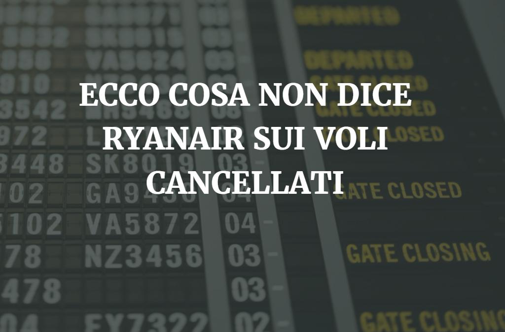 Ryanair ti ha cancellato il volo? Ti diciamo se hai diritto al risarcimento
