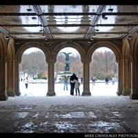 Under the Arches in Central Park