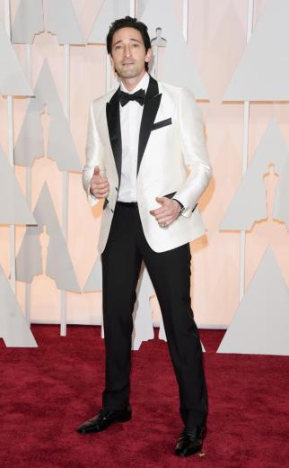 Adrien Brody in Dolce&Gabbana.