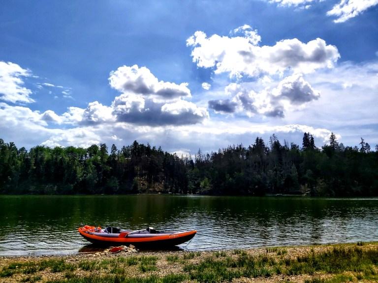 kayaking in Czech Republic