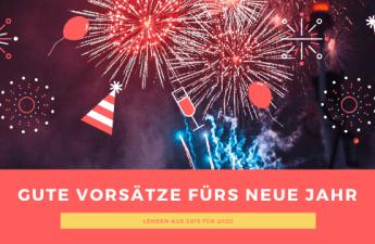 Gute Vorsätze fürs neue Jahr