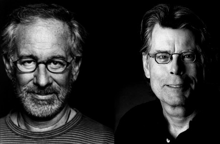 Resultado de imagem para Stephen King e Spielberg