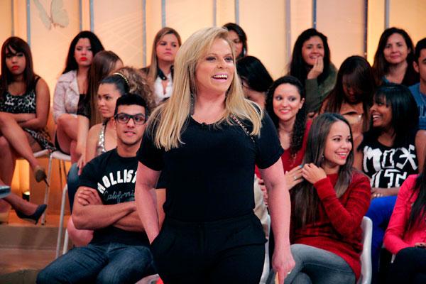 Programa apresentado por Christina Rocha é vice-líder em Recife. Foto: Gabriel Cardoso/SBT