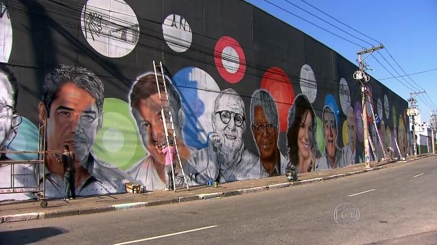 Grafiteiro Globo SPTV3