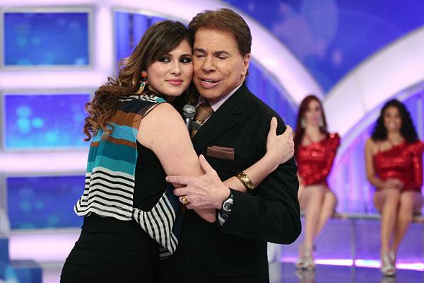 Silvio Santos e Livia