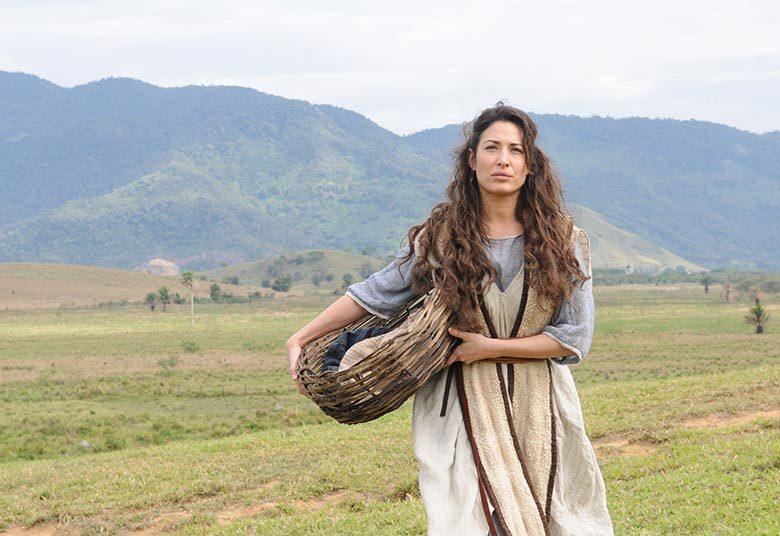 "Giselle Itiê protagonizou episódio de ""Milagres de Jesus"", que será exibida em formato de filme. Foto: Michel Angelo/Record"