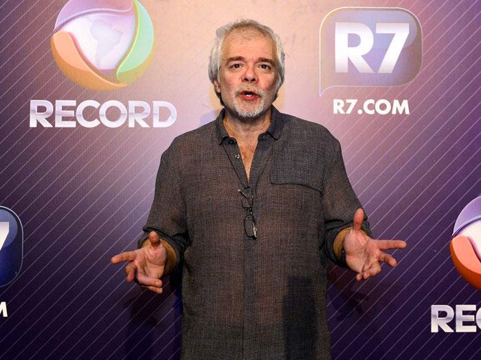 Carlos Lombardi apresentou sinopse de novela pra direção da Record. Foto: Reprodução
