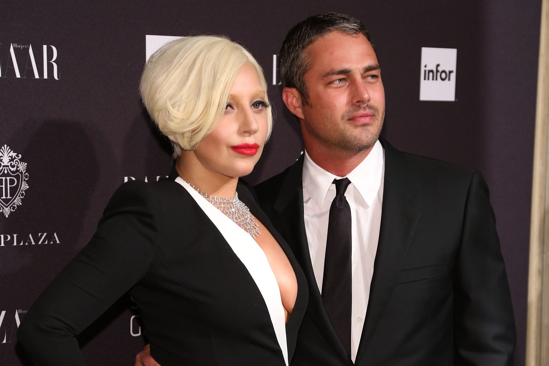 NEW YORK, NY - SEPTEMBER 05: Lady Gaga and Taylor Kinney attend Harper's Bazaar ICONS Celebration at The Plaza Hotel on September 5, 2014 in New York City. (Photo by Taylor Hill/FilmMagic)