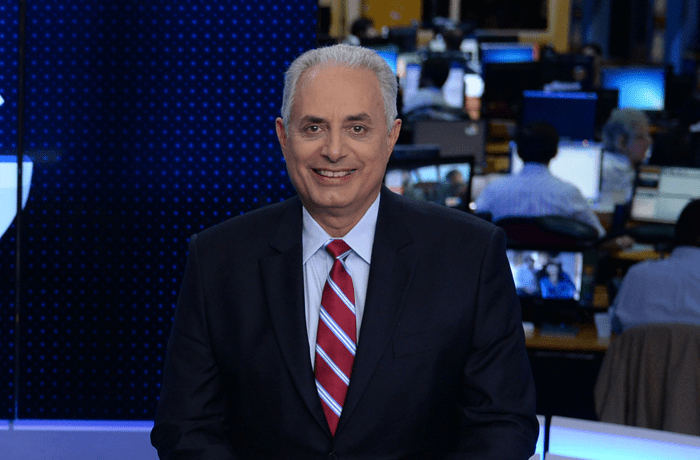William Waack é afastado da Globo por tempo indeterminado