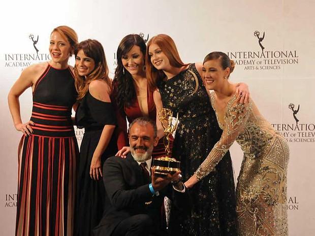 Novela 'Império' leva Emmy 2015 (Foto: Facebbok / International Emmy Awards)