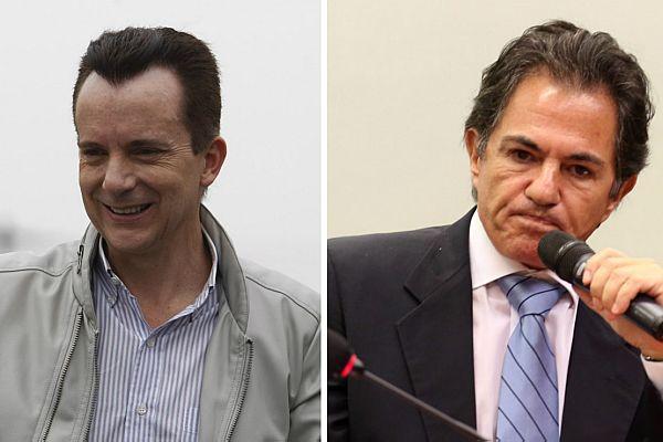 Russomanno (à esq.) e Mendonça Neto (à dir.)