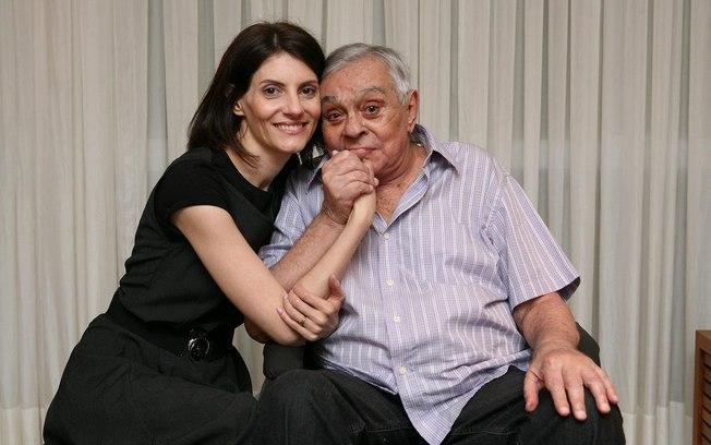 Chico Anysio e Malga di Paula