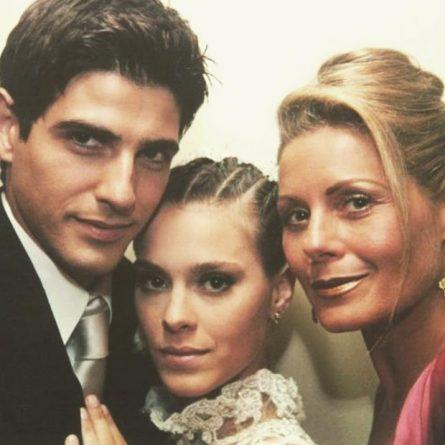 Reynaldo Gianecchini, Carolina Dieckmann e Vera Fischer (Foto: Reprodução/Instagram)