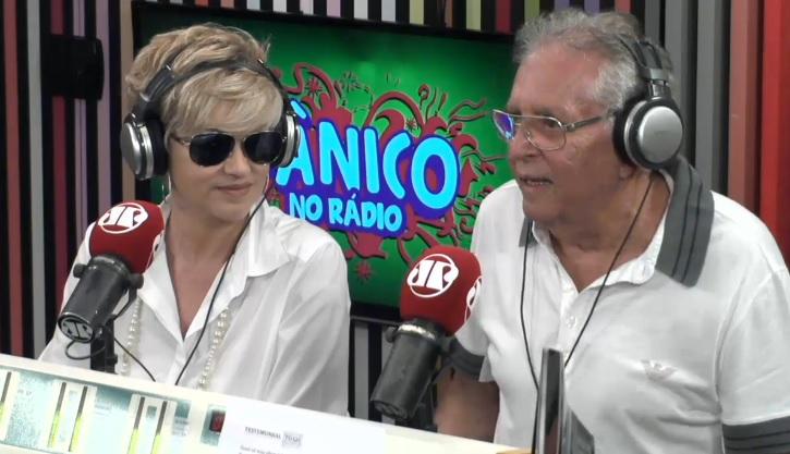 Carlos Alberto e Andréa no Pânico