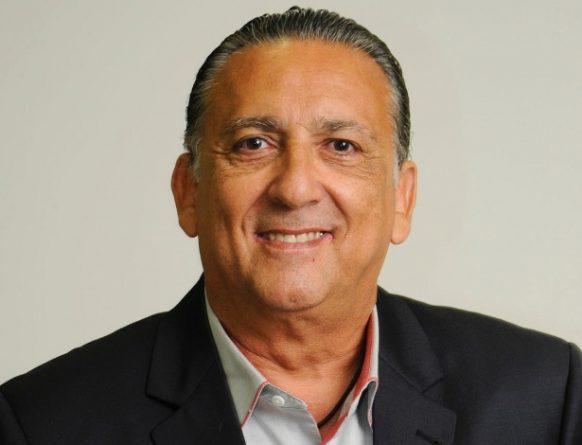 Galvão Bueno narra a partida da Libertadores. Foto: Reprodução