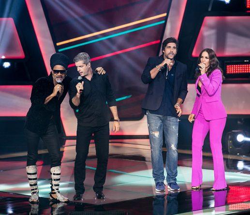 (Foto: Reprodução/Carlinhos Brown, Victor & Leo e Ivete Sangalo)