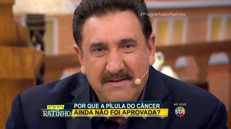 Ratinho Pilula do Cancer