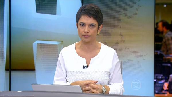 "Sandra Annenberg pode apresentar ""Jornal Hoje"" da Rússia"