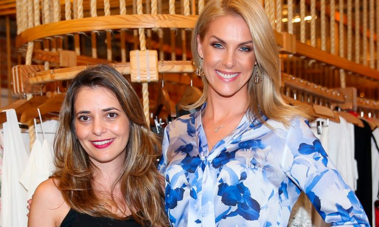Giovanna Oliveira ao lado da cunhada, Ana Hickmann. Foto: Manuela Scarpa/Brazil News