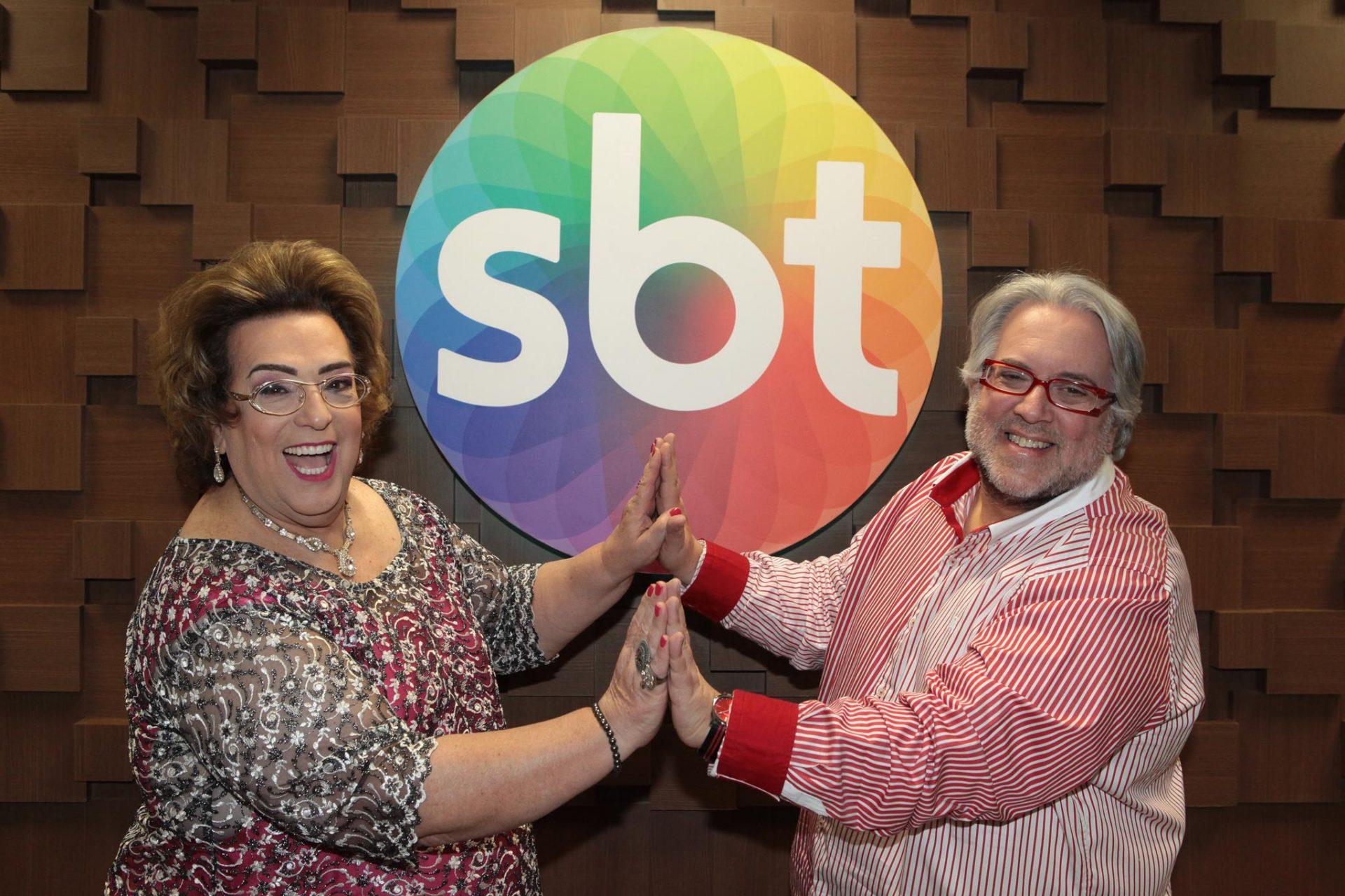 Leão Lobo e Mamma Bruschetta no SBT - Foto Leonardo Nones (7)