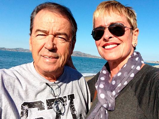 Leila Cordeiro e Eliakim Araújo nos Estados Unidos.