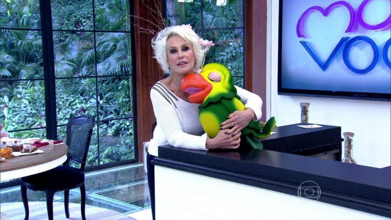 """Afastada do """"Mais Você"""", Ana Maria Braga descobre câncer de pele"""