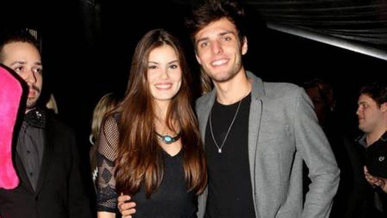 Camila Queiroz e Lucas Cattani ficaram juntos durante três anos Foto: Marcus Pavão