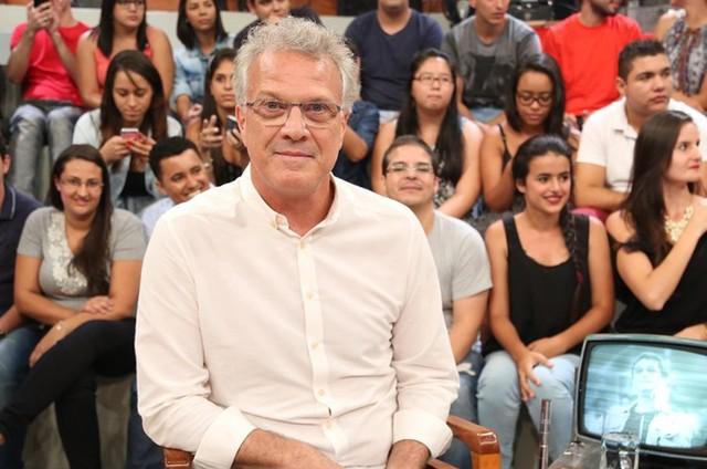 Globo quer Pedro Bial nas ruas em novo talk show