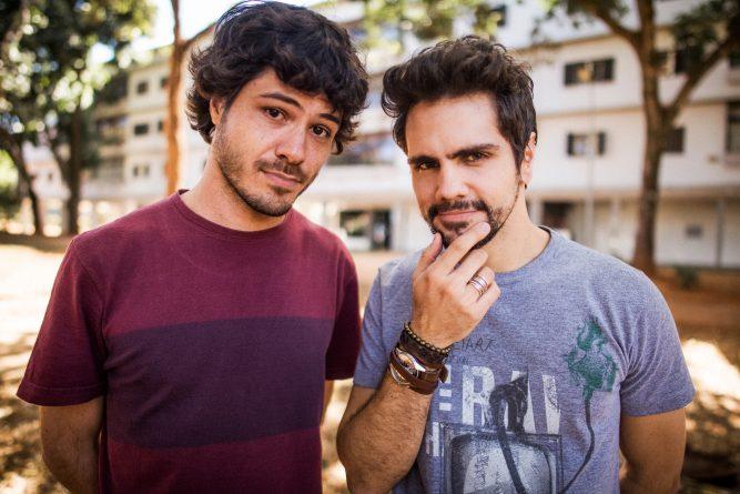 """Ricardo A. Gadelha e Ciro Sales apresentam a versão nacional de """"Catfish"""". Foto: Divulgação/MTV"""