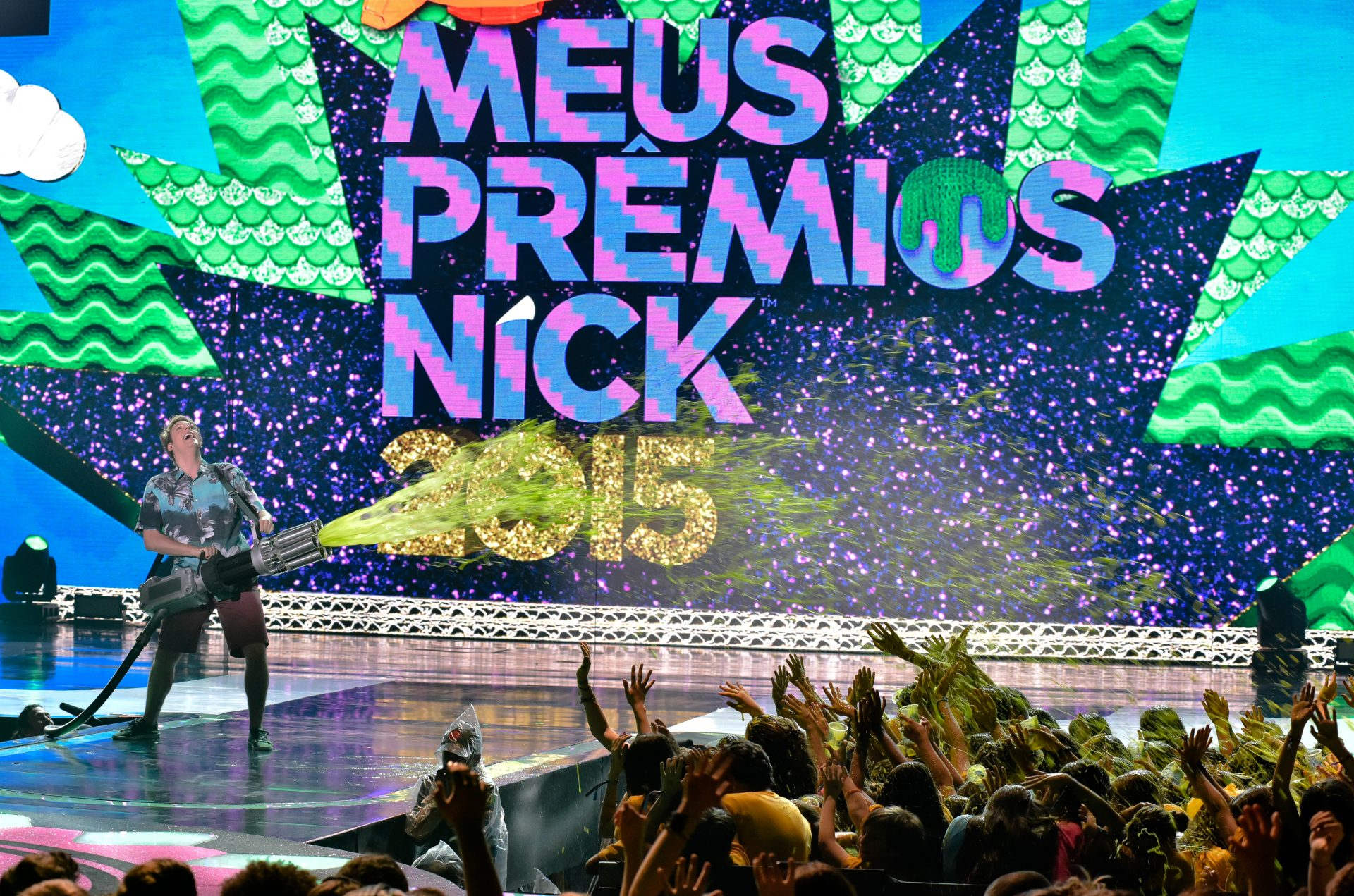 """Fabio Porchat na edição 2015 do """"Meus Prêmios Nick"""". Foto: Divulgação"""