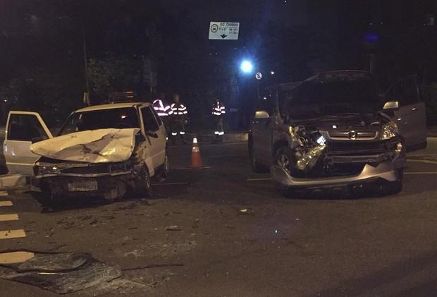 Thammy Miranda relata batida de carro (Foto: Instagram / Reprodução)
