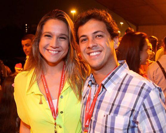 Fernanda Gentil e o ex-marido, Mateus Braga. (Foto: Reprodução)