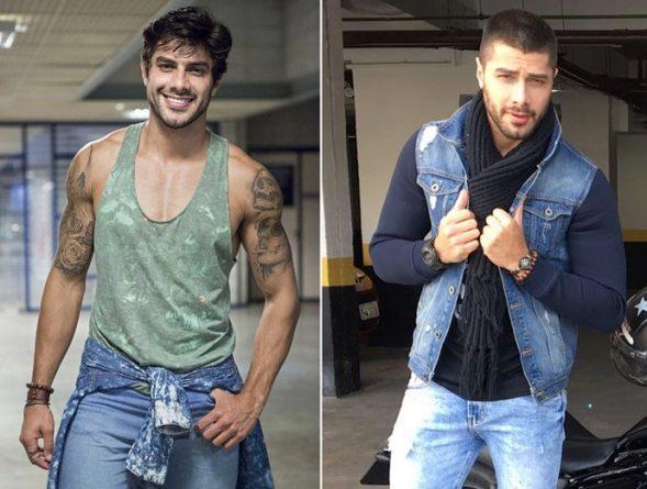 O antes e depois do ex-BBB. Foto: Reprodução