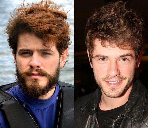 """Atual visual do ator e o antes, em """"I Love Paraísópolis"""". Foto: Reprodução"""