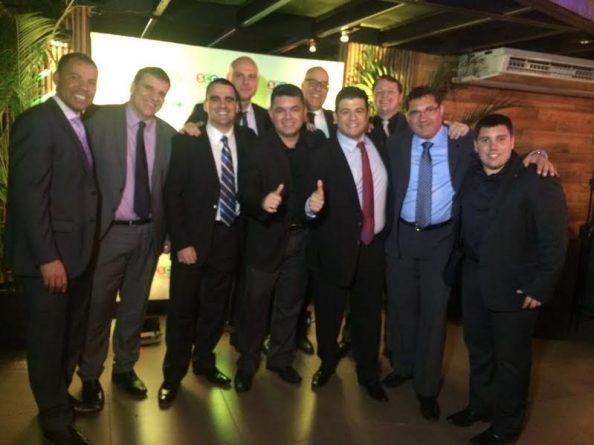 (Foto: Equipe comercial das afiliadas: SBT Paraná, SBT Rio Grande do Sul, SBT Santa Catarina e SBT Interior)
