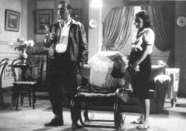 Lima Duarte e Laura Cardoso no programa TV de Vanguarda, nos anos 50. Foto: Reprodução