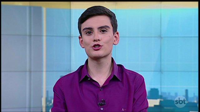 """Intérprete do """"Homem do Saco"""" é aposta de Silvio Santos em telejornal"""