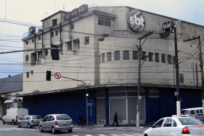 Estudios do SBT, na Vila Guilherme, demolidos em 2011, eram atingidos por constantes alagamentos.