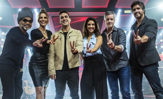 Globo Promove Coletiva De Imprensa Da Segunda Temporada De The Voice Kids Bastidores Da Tv