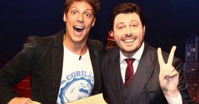 """Danilo Gentili anuncia participação no """"Programa do Porchat"""""""