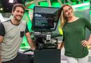 """Bernardinho conversa com Flávio Canto e Fernanda Gentil no estúdio do """"Esporte Espetacular"""""""
